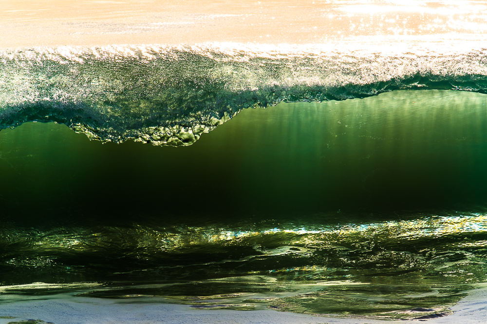 Smooth wave in California