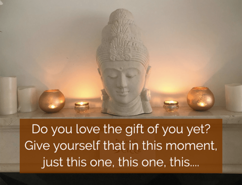 Do you love the gift of you yet